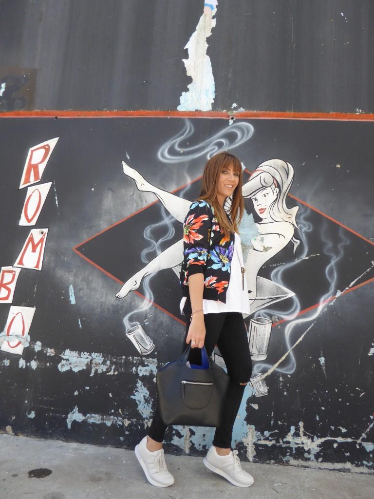 look con bomber estampada, blog de moda, jessica sanchez, blogger,