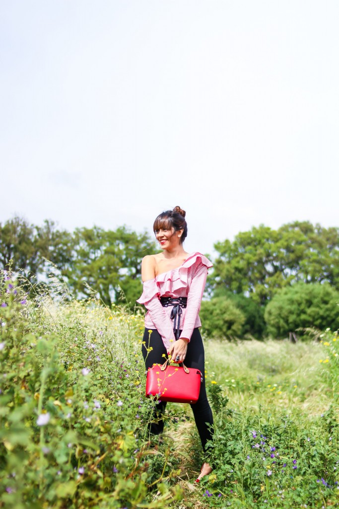 volantes, jessica sanchez, asesora de imagen, blog de moda, corsé,