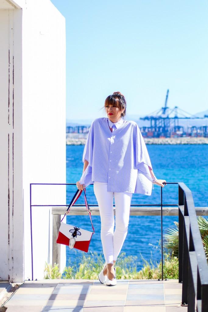 blog de moda, tendencias, jessica sanchez, camisa de rayas,