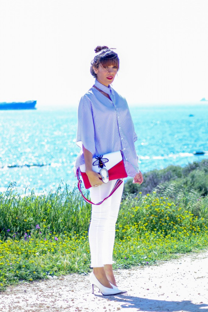camisa de rayas, jessica sanchez, personal shopper, tendencias,blog de moda,
