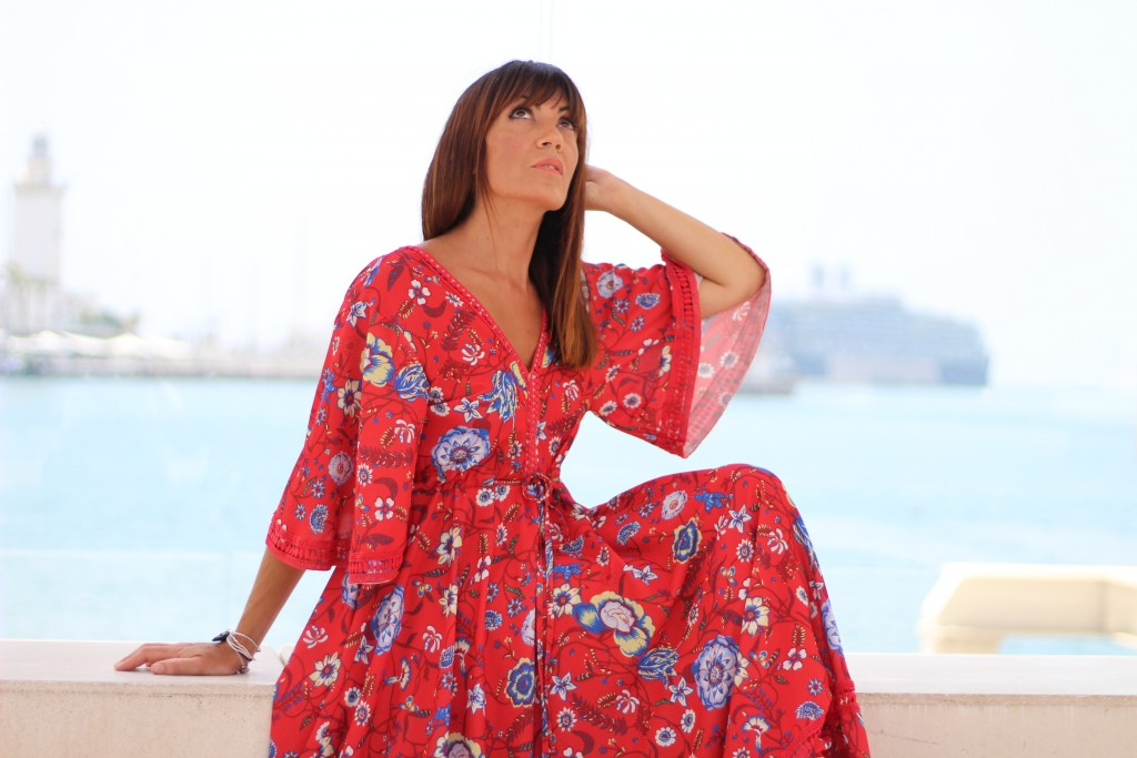 vestidos largos, estampados, blog de moda, jessica sanchez,