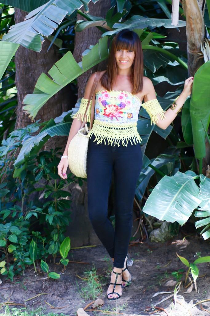 jessica sanchez, asesora de imagen, blog de moda, cesto de palma,