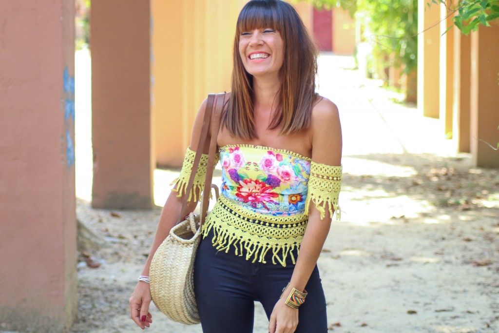 asesora de imagen, personal shopper, tendencias, blog de moda, top estampado,