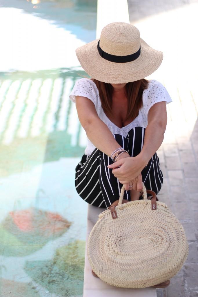 capazo de palma, sombreros, jessica sanchez,moda, tendencias,