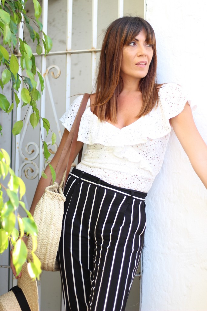 jessica sanchez, asesora de imagen, personal shopper, blog de moda, look con rayas,