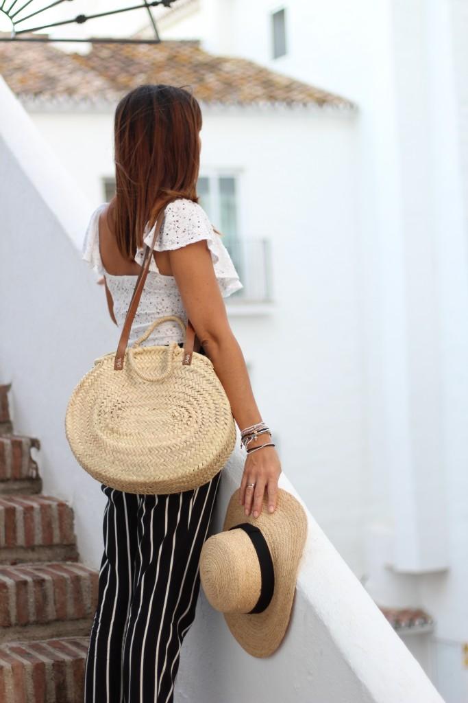 jessica sanchez, tendencias, blog de moda, marbella, capazos de palma, sombreros,
