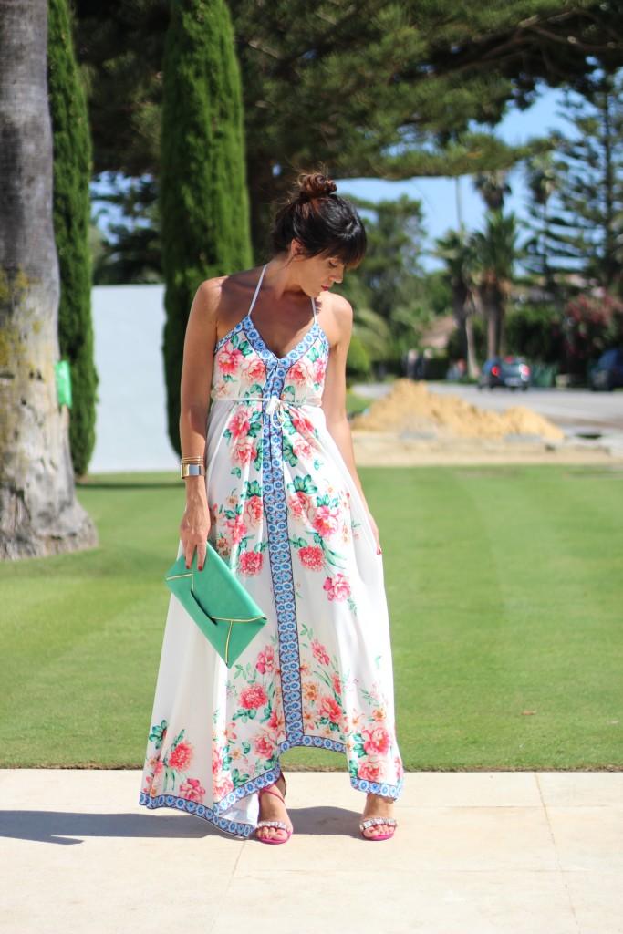 jessica sanchez, tendencias, blog de moda, vestidos largos, obra de arte,